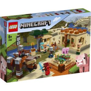 Lego Minecraft 21160 Illagerien Hyökkäys