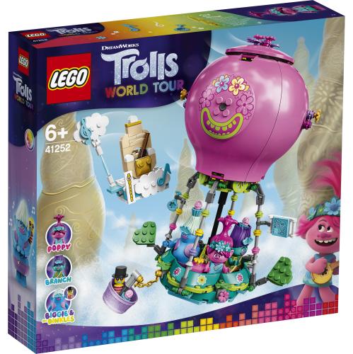 Lego Trolls 41252 Poppyn Kuumailmapalloseikkailu