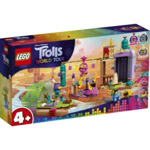 Lego Trolls 41253 Lonesome Flatsin Lauttaseikkailu