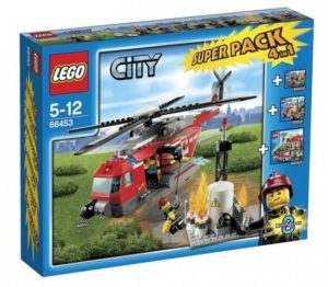 Lego City 66453 Fire Value Pack