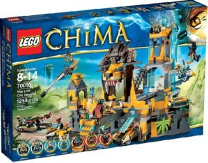 Lego Legends of Chima 70010 Leijonien CHI -Temppeli - Käytetty