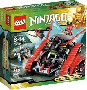 Lego Ninjago 70504 Puskija - Käytetty