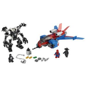 Lego Super Heroes 76150 Hämähäkkisuihkari vastaan Venom-Robotti