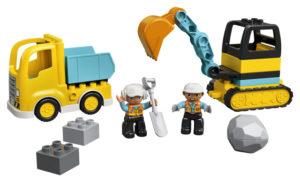 Lego Duplo 10931 Kuorma-auto ja Telakaivuri