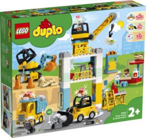 Lego Duplo 10933 Torninosturi ja Rakennustyömaa