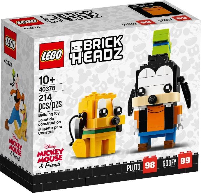 Lego BrickHeadz 40378 Hessu ja Pluto