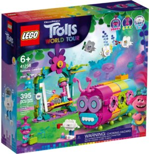 Lego Trolls 41256 Sateenkaarenvärinen Toukkabussi