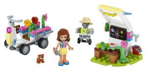 Lego Friends 41425 Olivian Kukkatarha