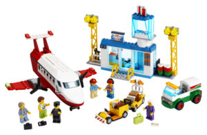 Lego City 60261 Keskuslentokenttä