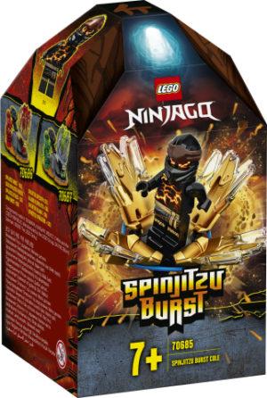 Lego Ninjago 70685 Spinjitzu-Räjäytin - Cole