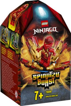 Lego Ninjago 70686 Spinjitzu-Räjäytin - Kai