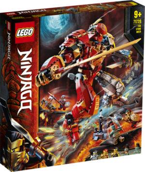 Lego Ninjago 71720 Tulikivirobotti