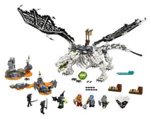 Lego Ninjago 71721 Pääkallovelhon Lohikäärme