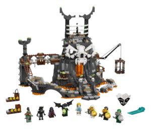 Lego Ninjago 71722 Pääkallovelhon Tyrmät
