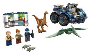 Lego Jurassic World 75940 Gallimimuksen ja Pteranodonin Pako