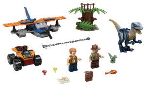 Lego Jurassic World 75942 Velociraptor: Pelastusoperaatio Kaksitasolla