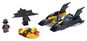 Lego Super Heroes 76158 Lepakkovene ja Pingviinin Takaa-ajo!