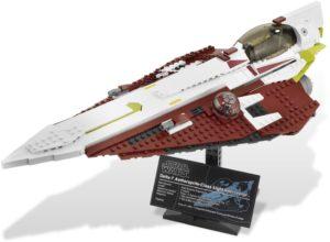 Lego Star Wars 10215 Obi-Wan's Jedi Starfighter - Käytetty