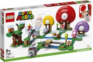Lego Super Mario 71368 Toadin aarrejahti -Laajennussarja