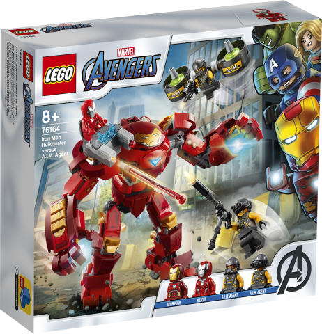 Lego Super Heroes 76164 Iron Man Hulkbuster Vastaan A.I.M.- Agentti