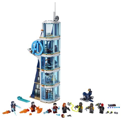 Lego Super Heroes 76166 Kostajien Tornin Taistelu