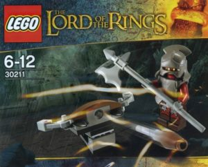 Lego Lord of the Rings 30211 Uruk-Hai With Ballista