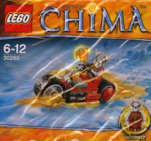 Lego Legends of Chima 30265 Worriz' Fire Bike