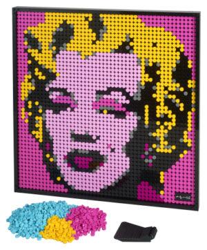 Lego Art 31197 Andy Warhol's Marilyn Monroe