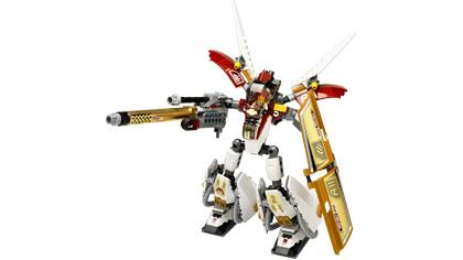 Lego Exo-Force 7714 Golden Guardian - Käytetty