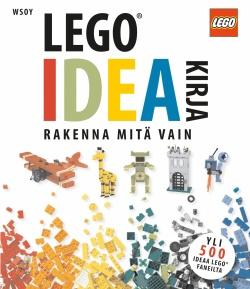 Lego Ideakirja - Rakenna Mitä Vain