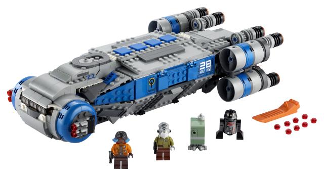 Lego Star Wars 75293 Vastarinnan I-TS -Kuljetusalus