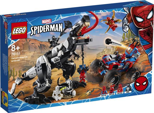 Lego Super Heroes 76151 Venomosauruksen Väijytys