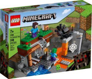 """Lego Minecraft 21166 """"Hylätty"""" Kaivos"""