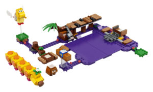 Lego Super Mario 71383 Wigglerin Myrkkysuo -Laajennussarja