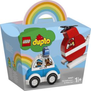 Lego Duplo 10957 Sammutushelikopteri ja Poliisiauto