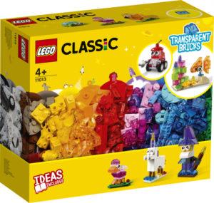 Lego Classic 11013 Luovan Rakentajan Läpinäkyvät Palikat