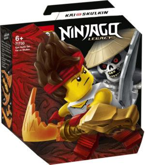 Lego Ninjago 71730 Eeppinen Taistelusetti – Kai Vastaan Skulkin