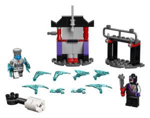 Lego Ninjago 71731 Eeppinen Taistelusetti – Zane Vastaan Nindroidi