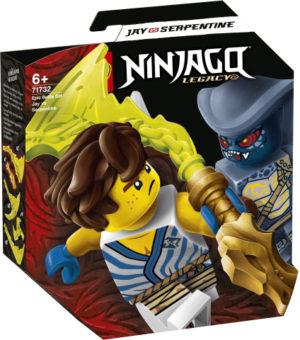 Lego Ninjago 71732 Eeppinen Taistelusetti – Jay Vastaan Serpentine
