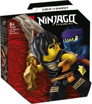 Lego Ninjago 71733 Eeppinen Taistelusetti – Cole Vastaan Kummitussoturi