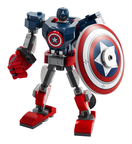 Lego Super Heroes 76168 Captain America -Robottihaarniska