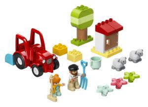 Lego Duplo 10950 Maatilan Traktori ja Hoitoeläimet