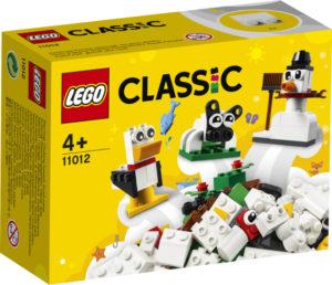 Lego Classic 11012 Luovan Rakentajan Valkoiset Palikat