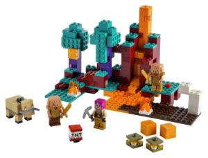 Lego Minecraft 21168 Kiero Metsä