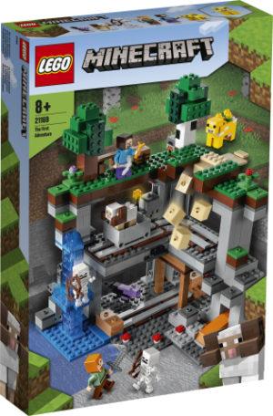 Lego Minecraft 21169 Ensimmäinen Seikkailu