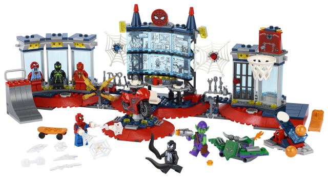Lego Super Heroes 76175 Hyökkäys Hämähäkkiluolaan