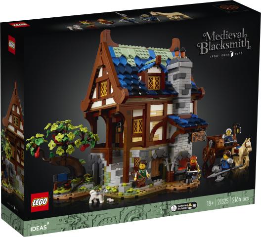 Lego 21325 Keskiaikainen Sepän Paja