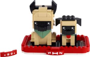 Lego BrickHeadz 40440 Saksanpaimenkoira