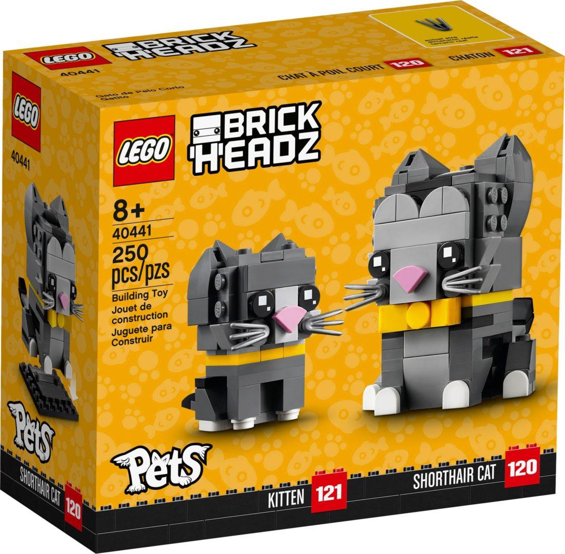 Lego BrickHeadz 40441 Lyhytkarvaiset Kissat
