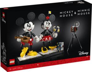 Lego Disney Princess 43179 Rakennettavat Mikki Hiiri- ja Minni Hiiri -Hahmot